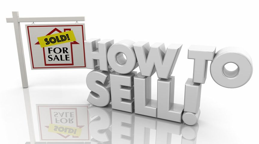 How to Sell Home House for Sale Sign 3d Illustration
